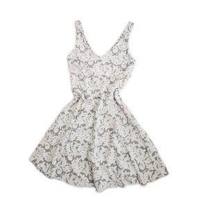 abercrombie & fitch : floral tea time mini dress